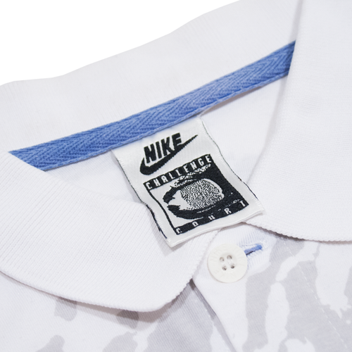 Image of Nike Challenge Court Agassi Vintage Tennis Polo Shirt Size M
