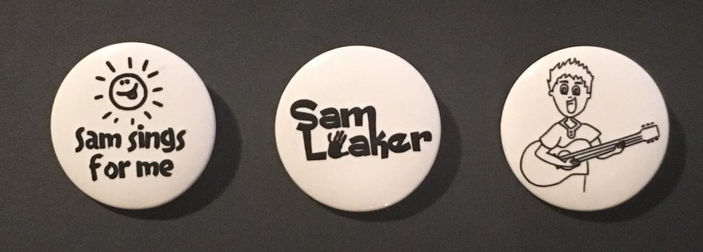 Image of Sam Loaker buttons