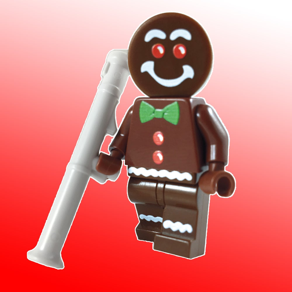 Image of UNLIMITED Edition Gingerbread Man minifigure