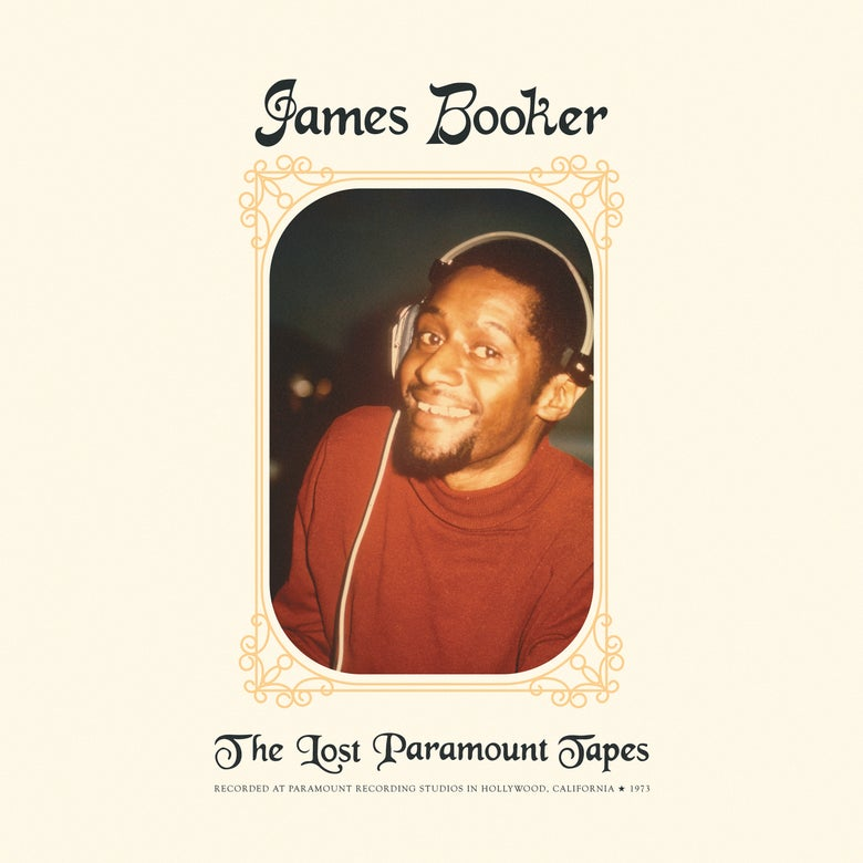 Image of James Booker - The Lost Paramount Tapes