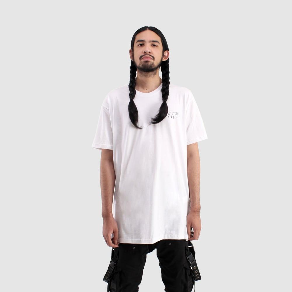 Image of Basic Long T - White
