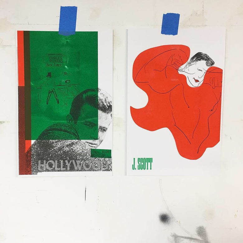 Image of Lmtd. riso posters