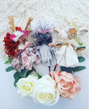 Image of Decorative Woodland Fairy Doll Collection