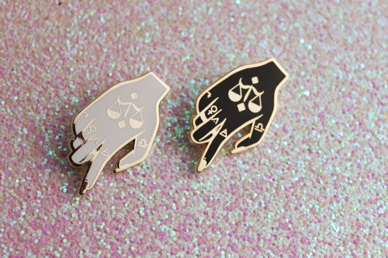 Image of The Hand of Balance Pin!