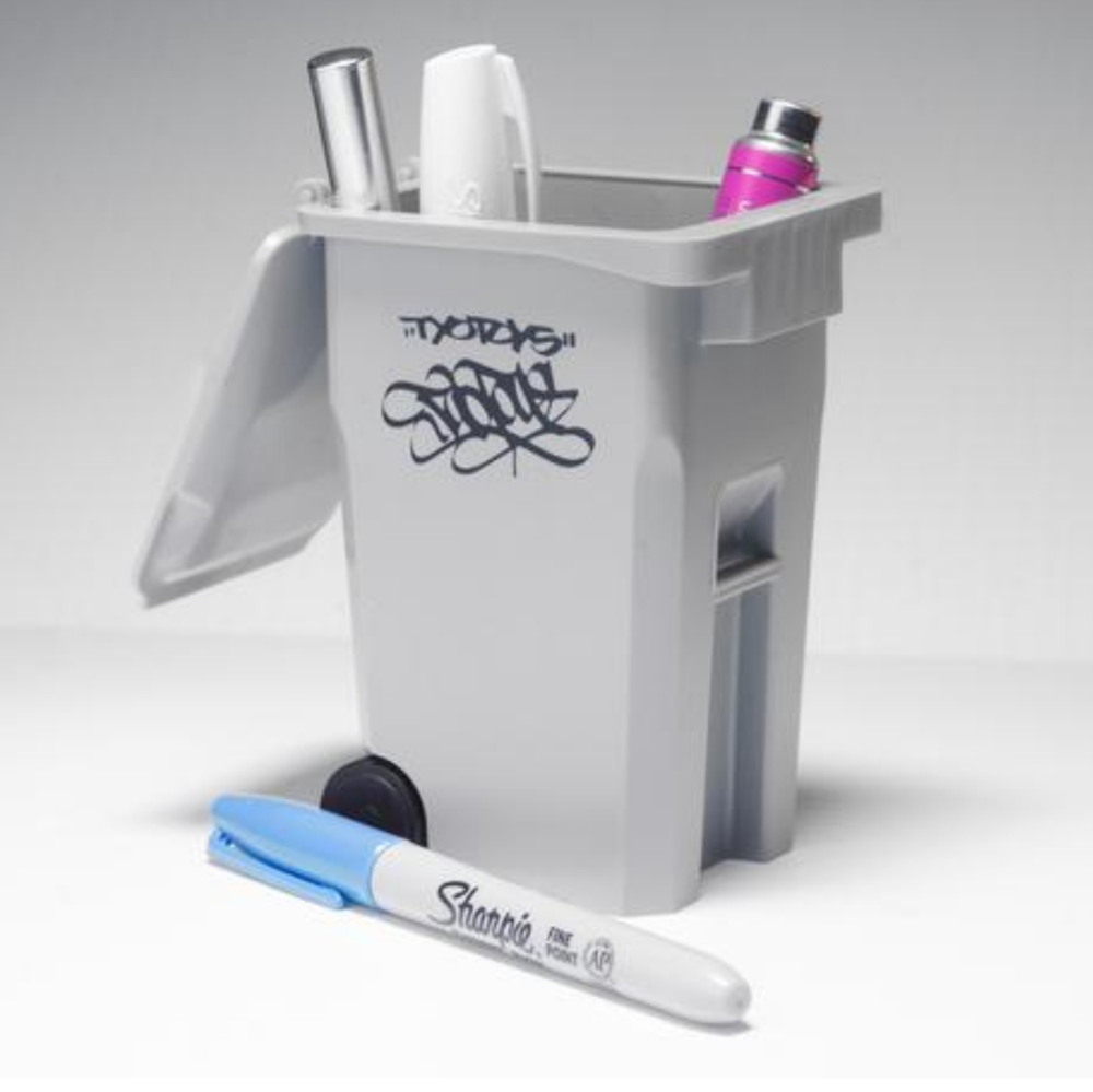 Image of TYOTOYS Desktop Trash Bin