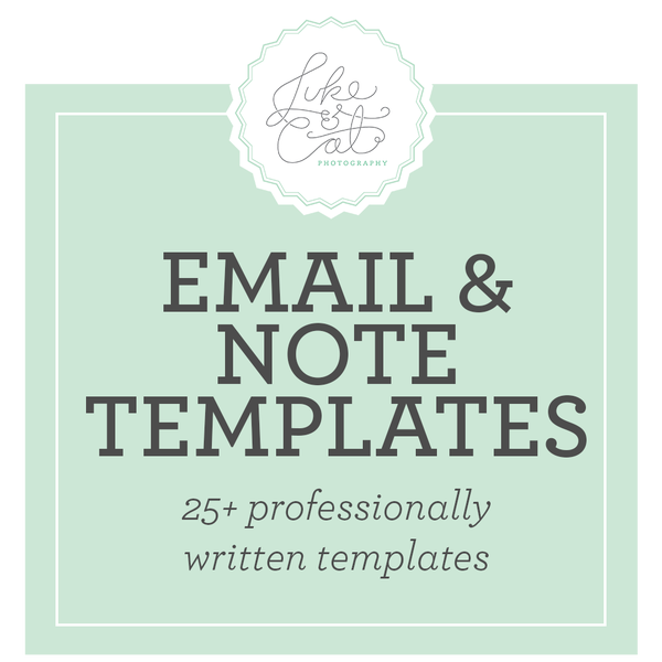 Image of Email and Note Templates