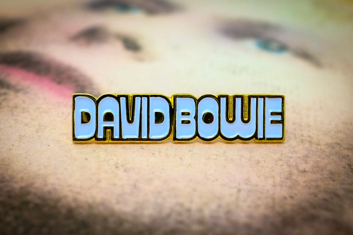 Image of David Bowie 'Hunky Dory' Logo