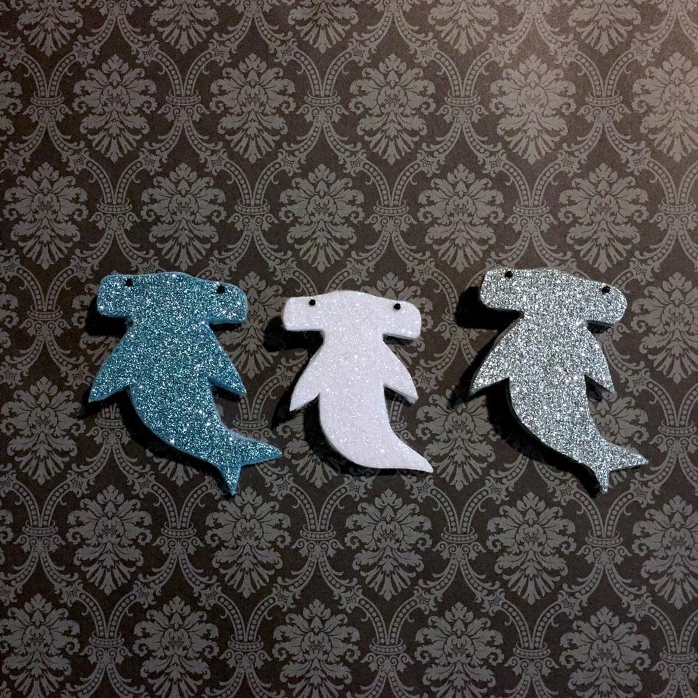 Image of glitter hammerheads!