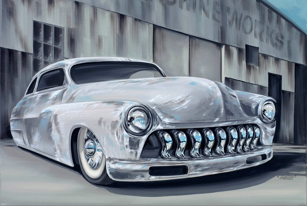 Image of Merc Led sled  / Giclee Canvas Wrap