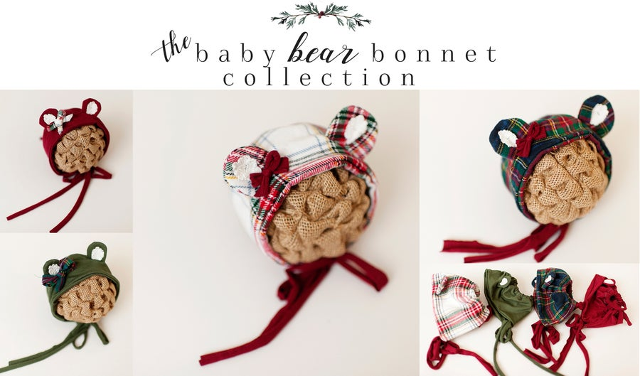 Image of The Baby Bear Bonnet Collection