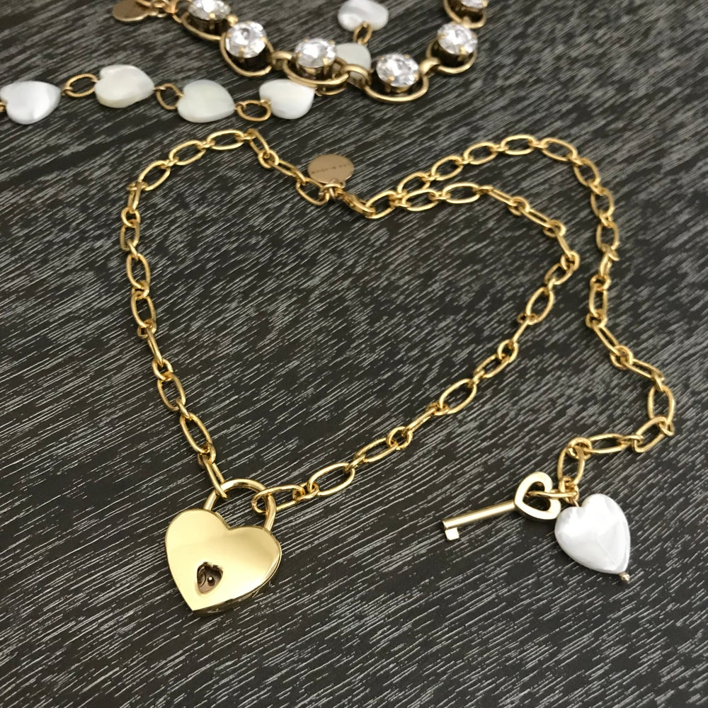 Image of Heart Lock necklace