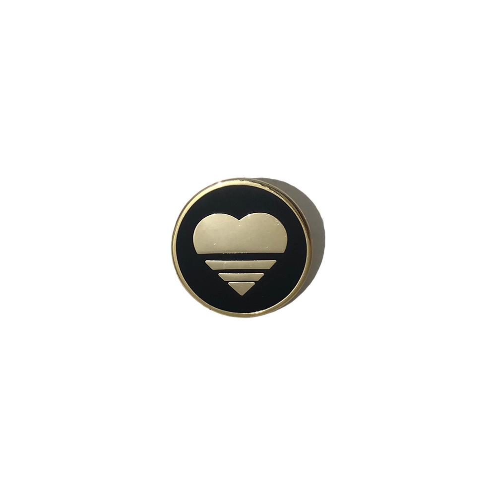 Image of The Heart Logo Lapel Pin