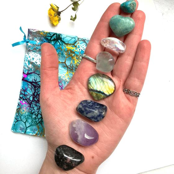 Image of Polished Crystal & Gem Healing Bundle