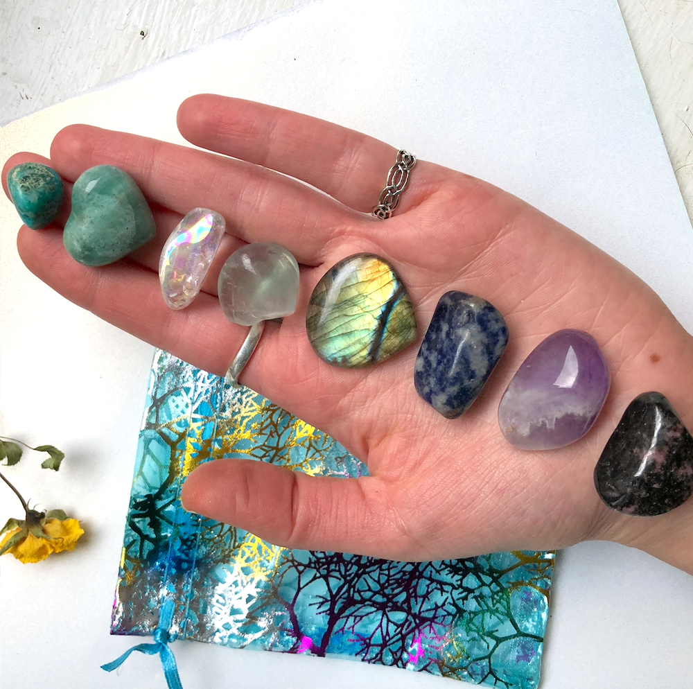 Image of Polished Crystal & Gem Healing Bundle