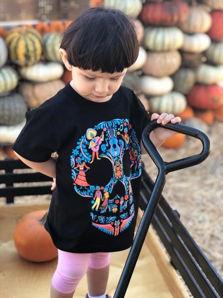 Image of Calaveritas UNISEX kids T-Shirt