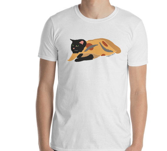 Image of Pizza Cat T-Shirt