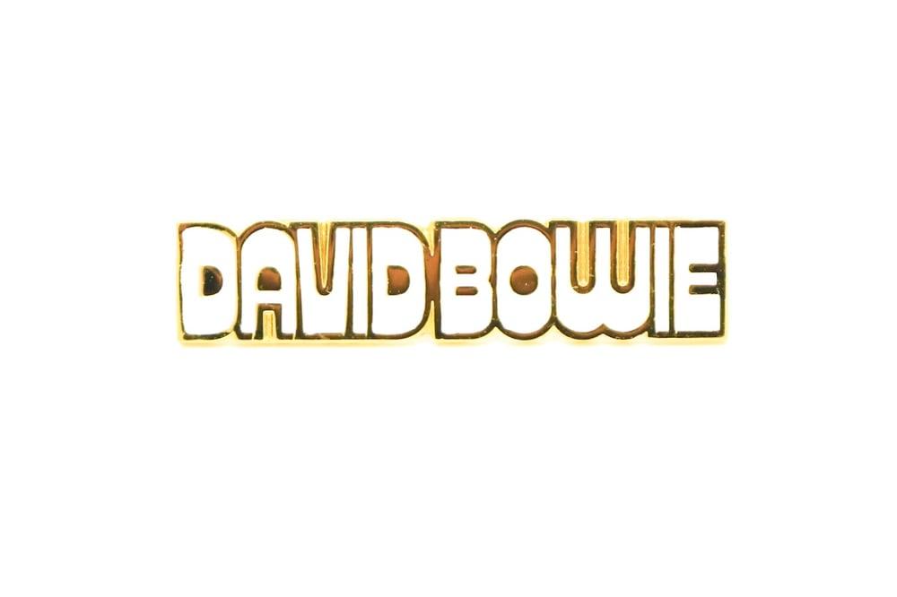 Image of David Bowie 'Hunky Dory' Logo