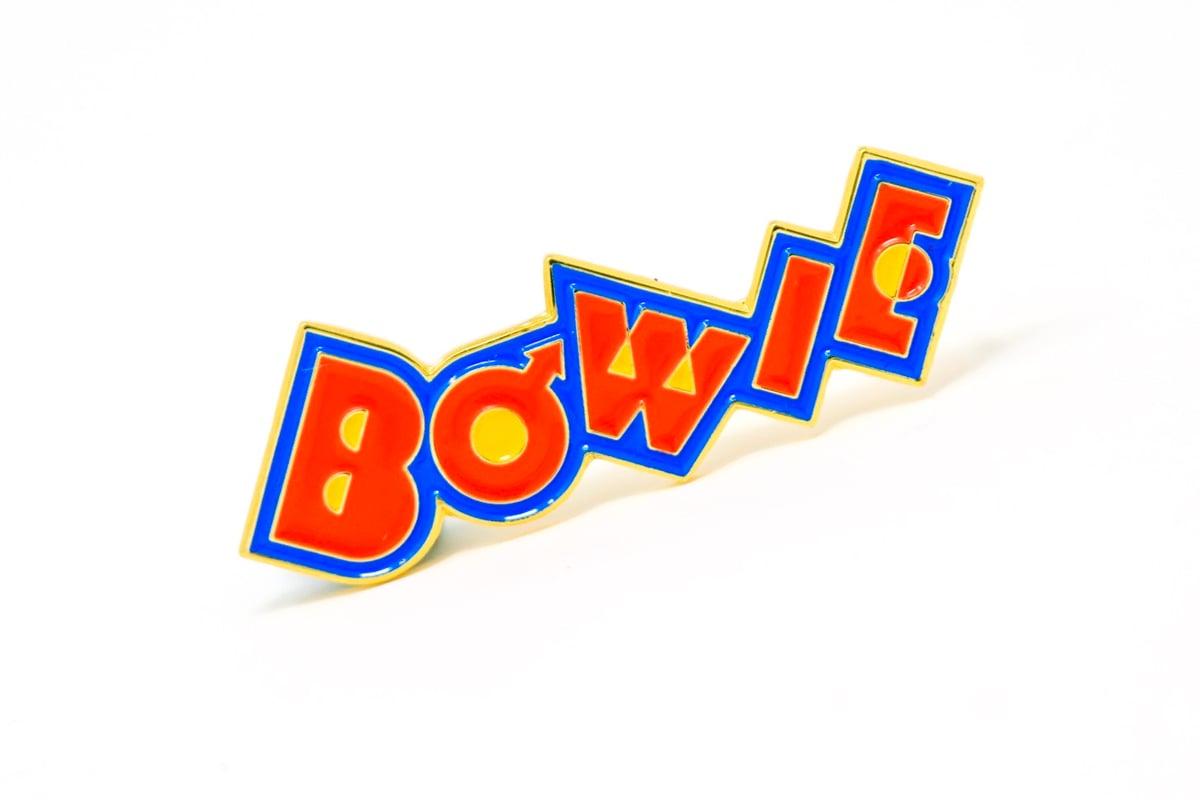 Image of David Bowie 'Pin Ups' Logo