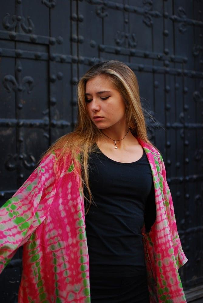 Image of Tie dyed Kimono