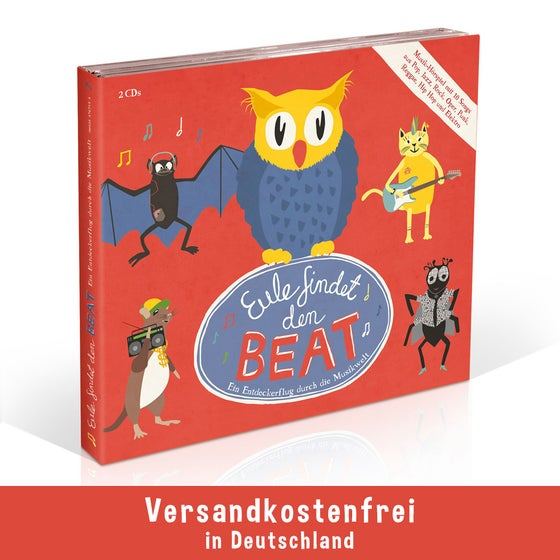 Image of EULE FINDET DEN BEAT Audio CD