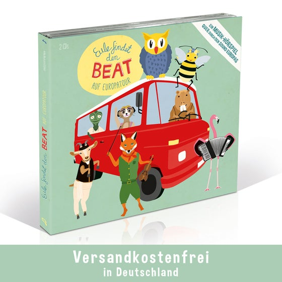 Image of Eule findet den Beat - Auf Europatour Audio CD
