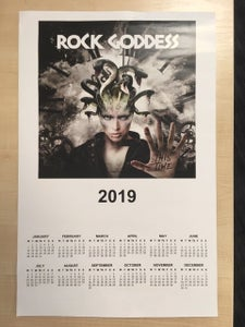 Image of 2019 calendar poster - signed by Jody, Julie, Jenny