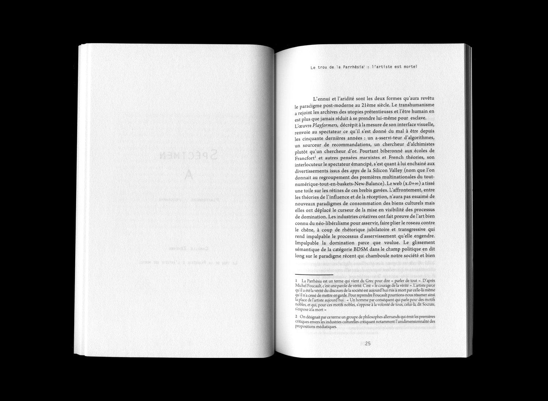 Image of Sébastien Souchon // Catalogues 2027 - 2033 Spécimens A-D-EFGH-IJK