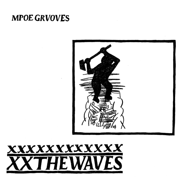"Image of Mope Grooves ""THE WAVES"" LP"