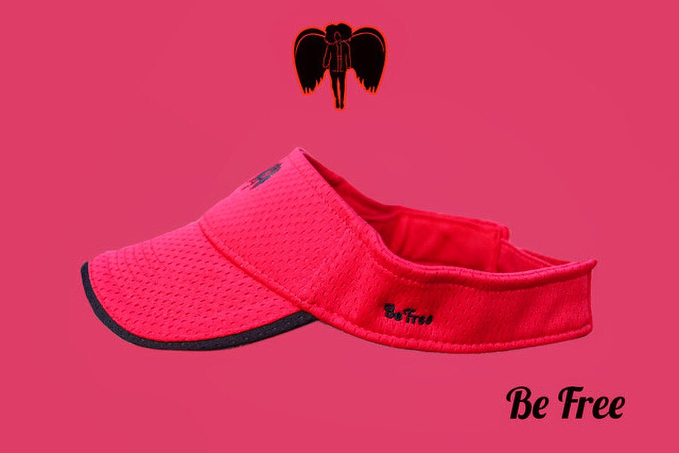 Image of Visionary Visor Red~Black Angel