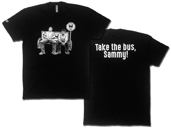 Image of Take the Bus, Sammy! tee