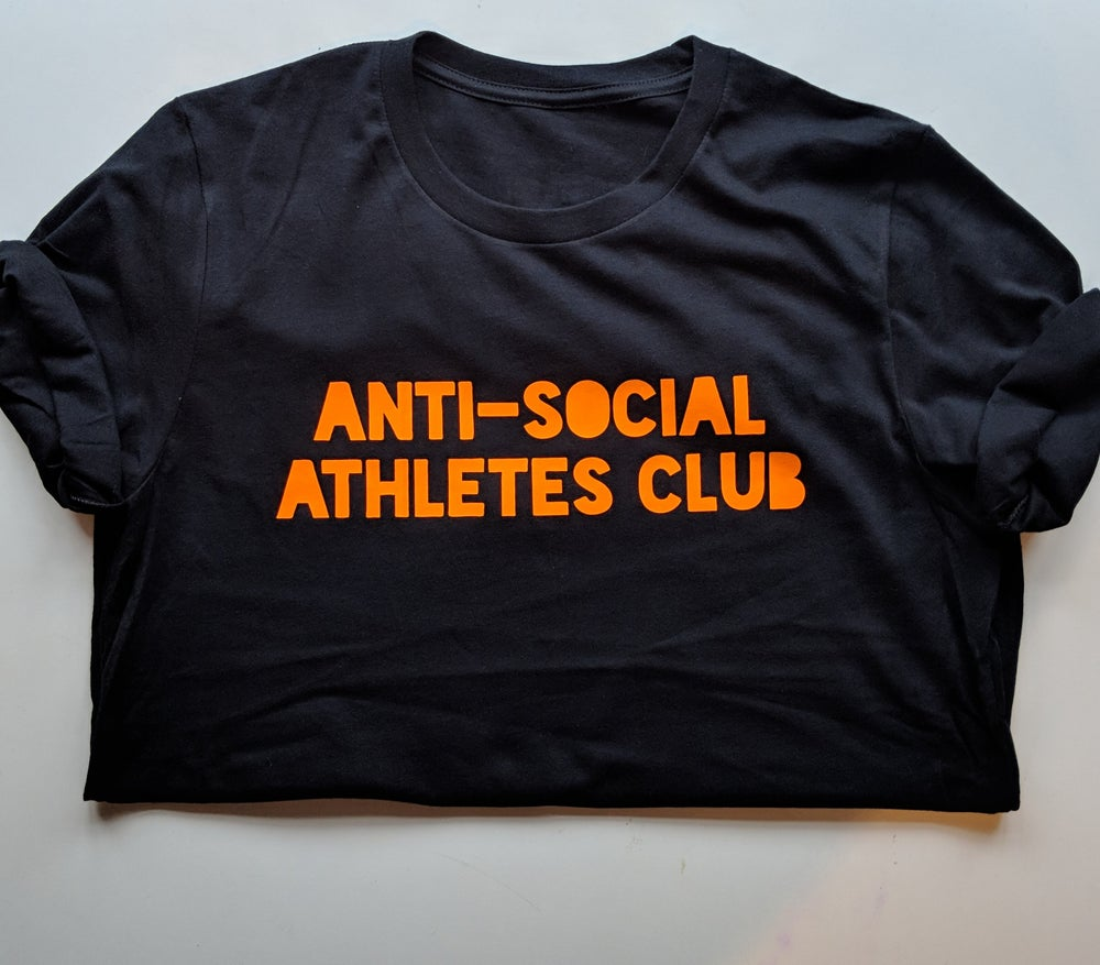 Image of Logo Tee BLK/FLURO ORANGE