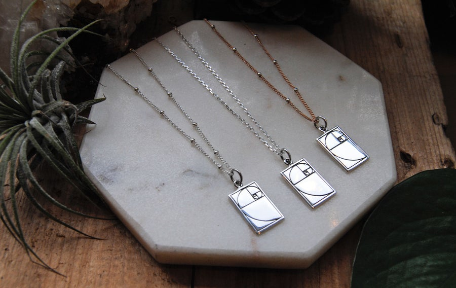 Image of Solid Fibonacci Necklace