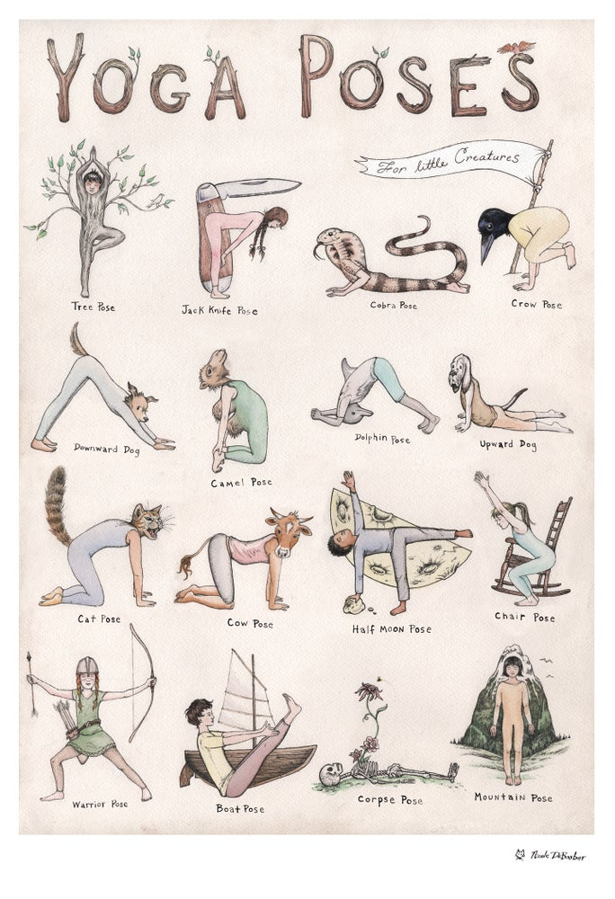 Image of Yoga Poses for Creatures