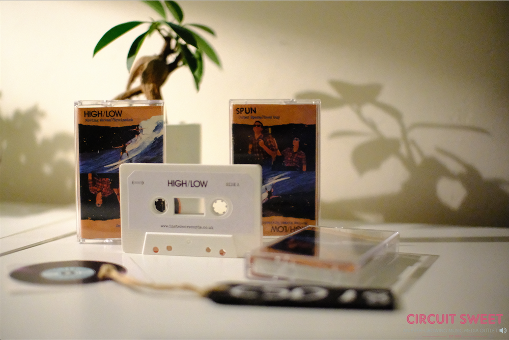 Image of CASSETTE STORE DAY 2018 RELEASE |  HIGH/LOW & SPUN SPLIT EP