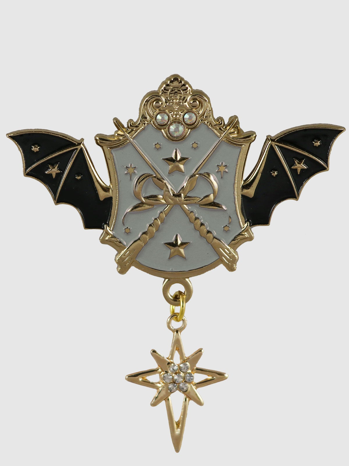 Image of Witch Academy Brooch • Gray