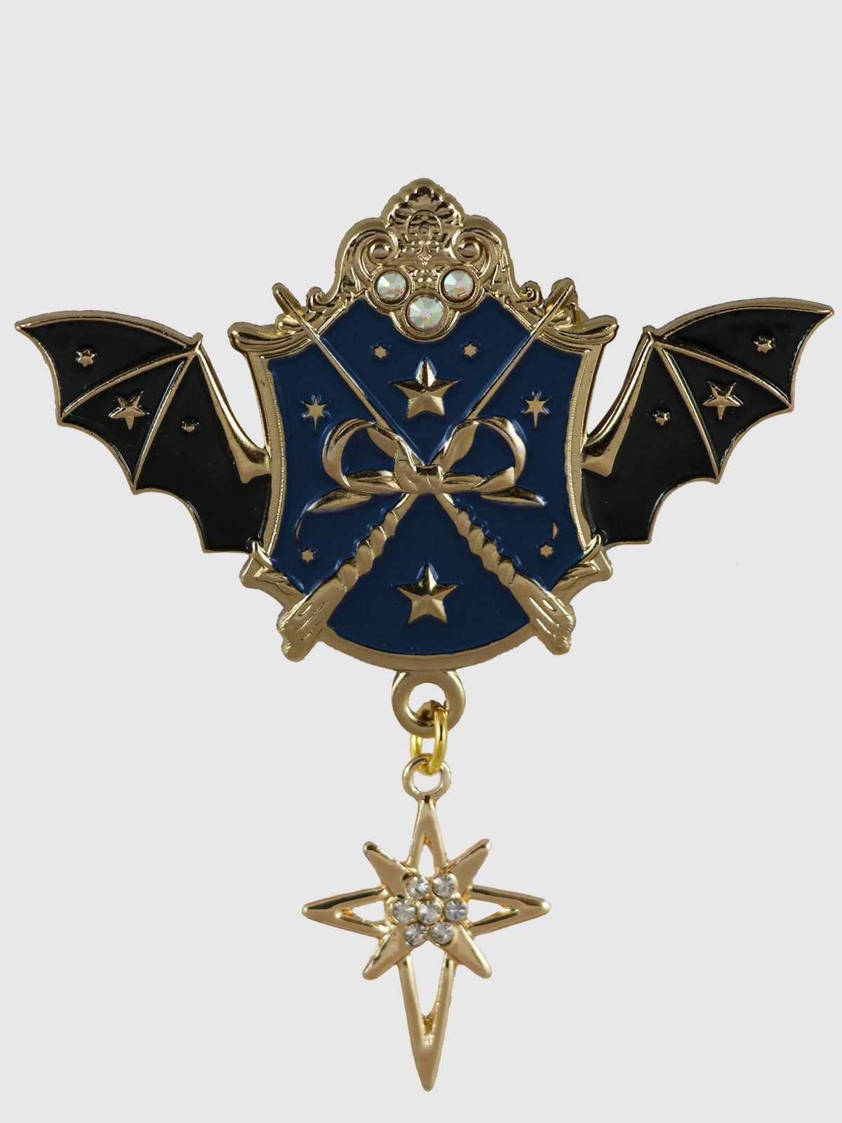 Image of Witch Academy Brooch • Navy