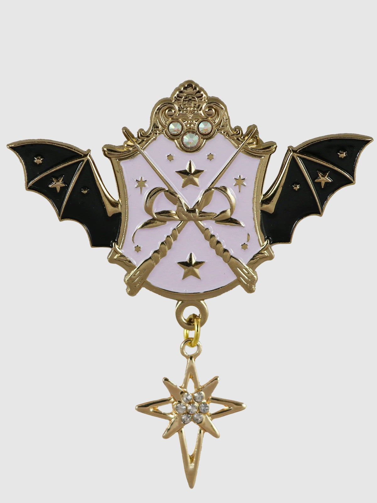 Image of Witch Academy Brooch • Lavender