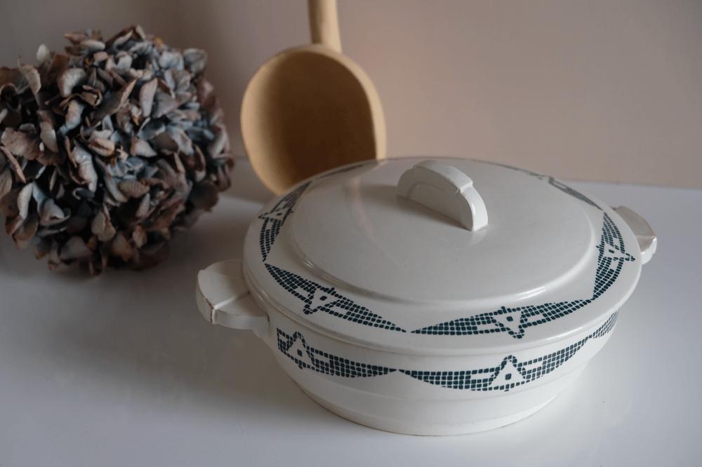 Image of Plat porcelaine