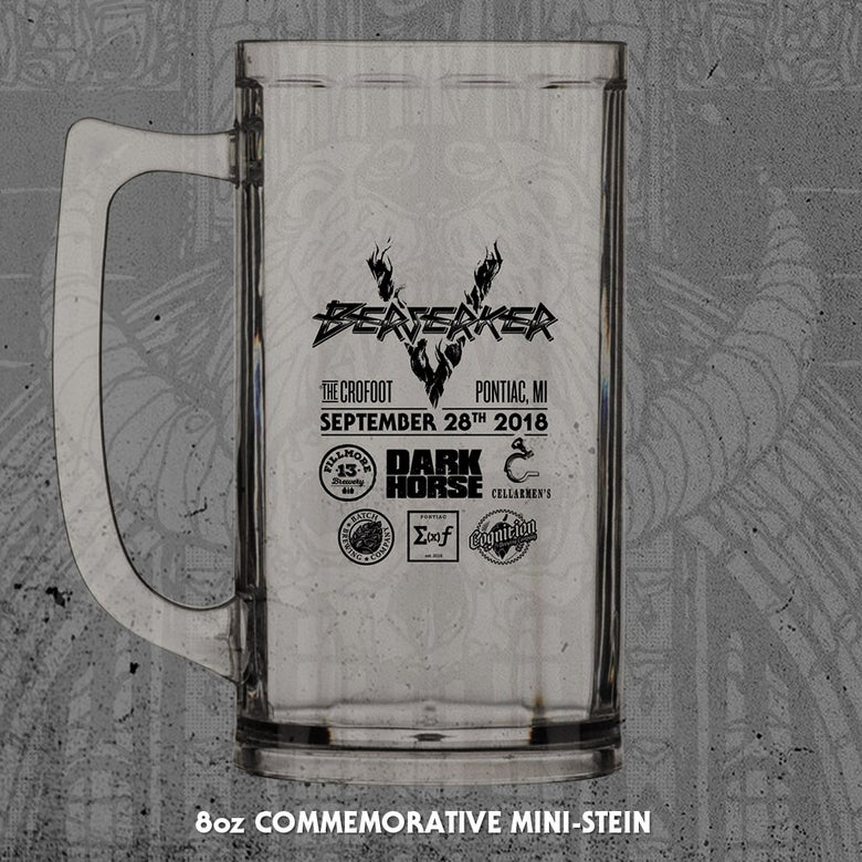Image of Berserker V 8oz Mini-Stein