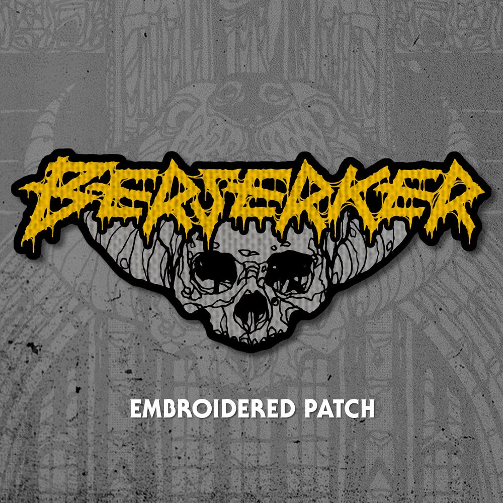 Image of Berserker Embroidered Patch