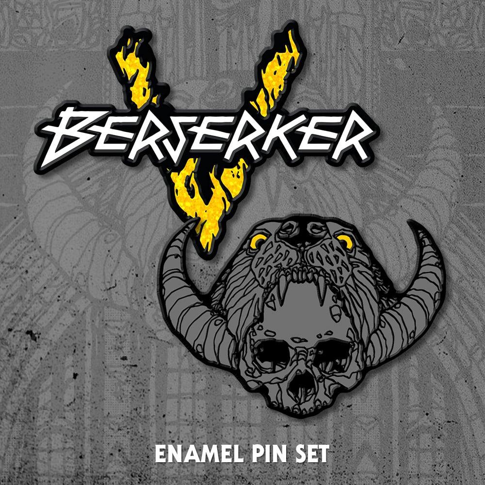 Image of Berserker Enamel Pin Set