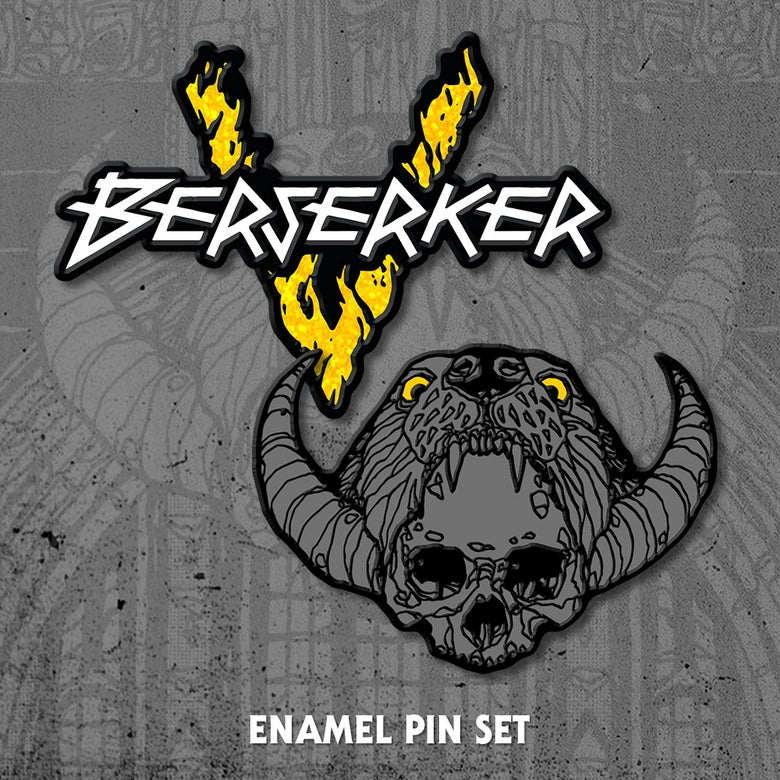 Image of Berserker Enamel Pin Set