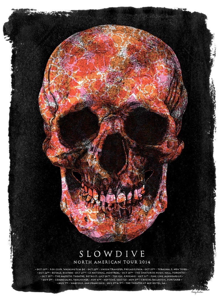 Image of Slowdive North American Tour 2014