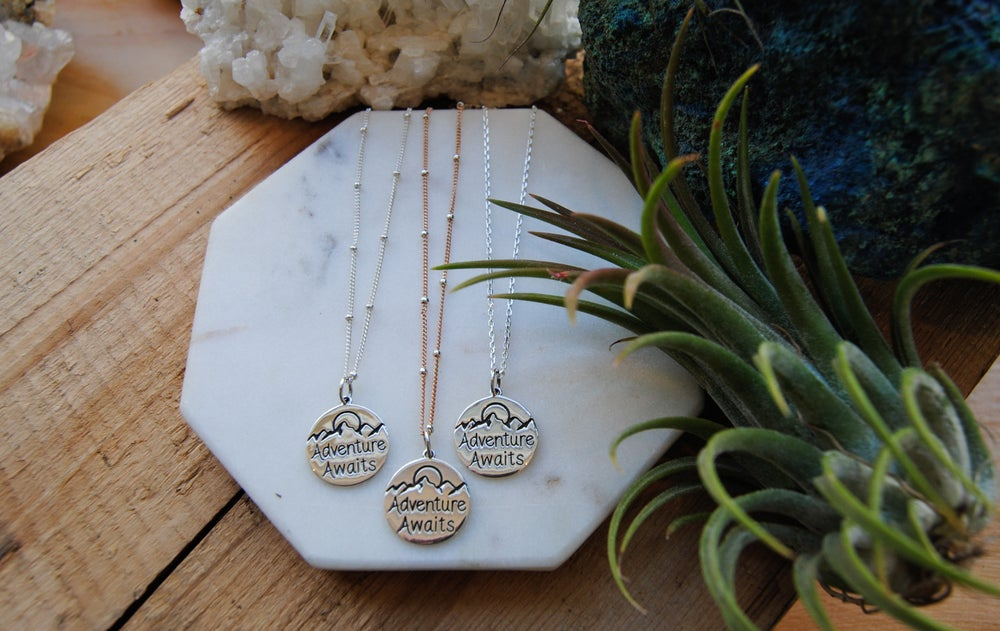 Image of Adventure Awaits Necklace