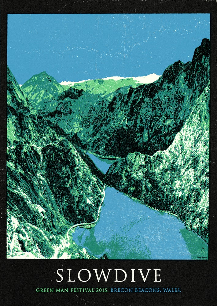 Image of Slowdive - Green Man Festival 2015