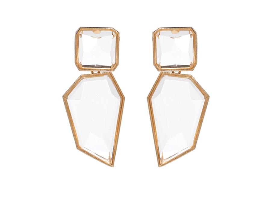 Image of Geometric fashion earrings