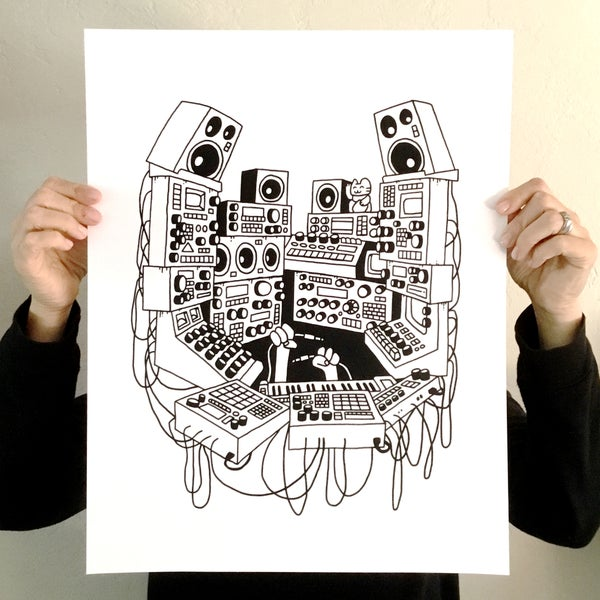 Image of 'VAULTS 2' SCREEN PRINT