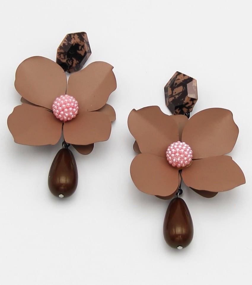 "Image of ""Brown Sugar"" Dangle Earrings"