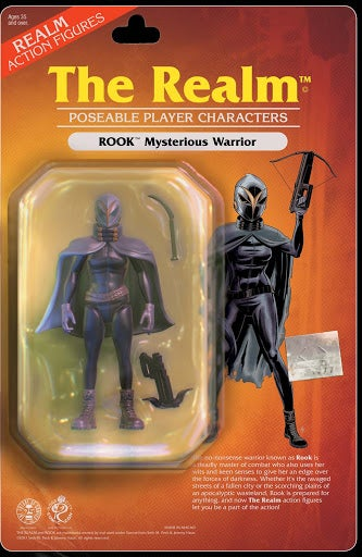Image of THE REALM-Rook Action Figure Variant-RCCC (Issue One)