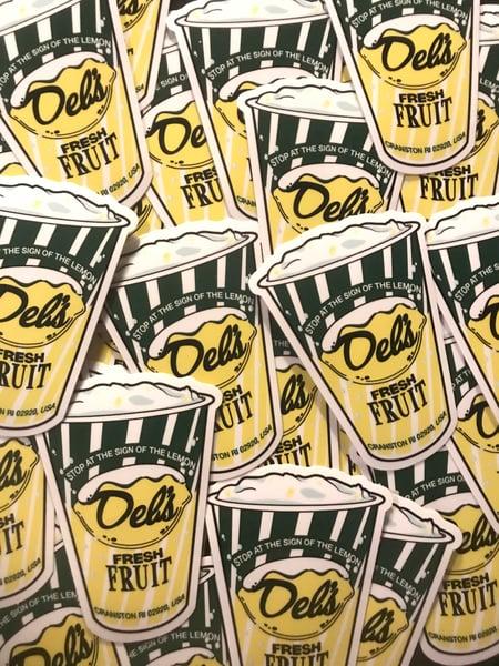 Image of Del's Lemonade Sticker